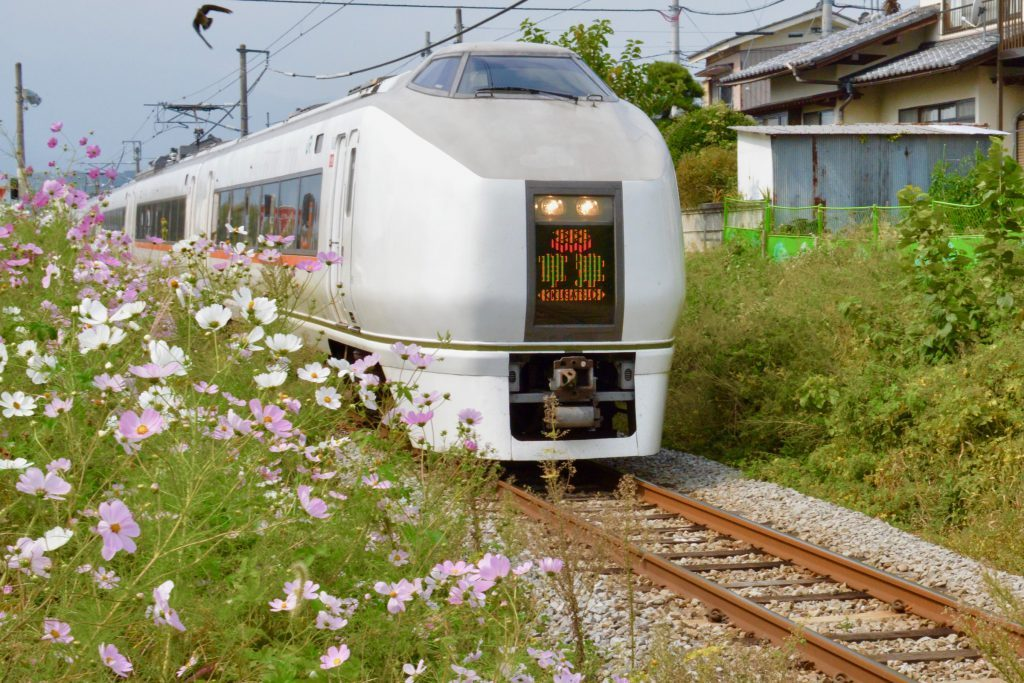 JR train Kusatsu express
