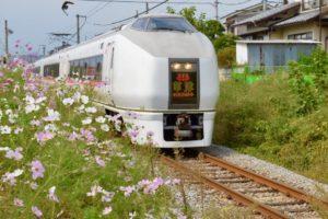 JR train Kusatsu express
