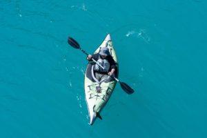 Canoeing at Shima Lake