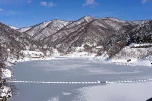 Winter Oku Shima Lake