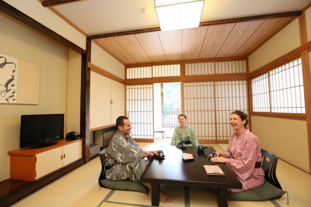 Staying Ryokan